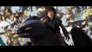 How to Train Your Dragon 2: Toothless vs Bewilderbeast - ENDING SCENE (MAJOR SPOILERS)