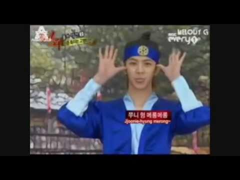 MBLAQ Funny Thunder((ChunDoong)) cut (Idol Army Ep.5)