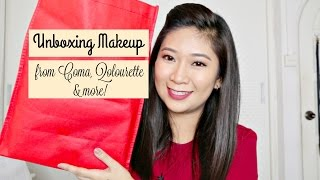 getlinkyoutube.com-Unboxing Makeup from COMA, Qolourette and more! | dygans90