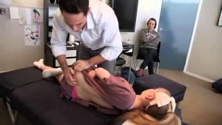 getlinkyoutube.com-Gonstead adjustment for extremely flexible patient 2015