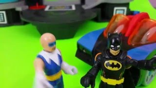 getlinkyoutube.com-Imaginext Batman Video Compilation Captain Cold Unboxing Disney Toys Chest