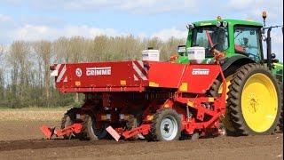 Grimme GL 44 T potato planter