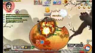 getlinkyoutube.com-Gunny - Trận đấu hài hước - Gà Ninja