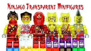 getlinkyoutube.com-Ninjago 2015 Transparent LEGO KnockOff Minifigures Review Set 16