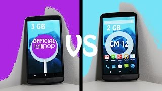 getlinkyoutube.com-LG G3 3GB Official VS LG G3 2GB CM12