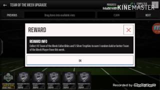 getlinkyoutube.com-Madden Mobile 16 Team Of The Week Upgrade pack