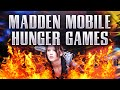 Madden Mobile HUNGER GAMES!! Madden YouTubers BATTLE EACH OTHER?!