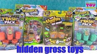 getlinkyoutube.com-Grossery Gang Trash Pack Ugglys Blind Bag Toy Review Opening   PSToyReviews