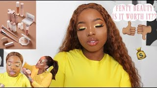 Rihanna Fenty Beauty Full Face Makeup || First Impressions, Review & Demo !