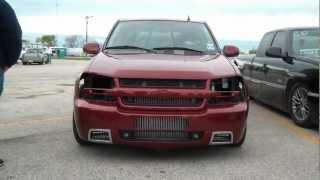 getlinkyoutube.com-2012 Truck Shootout - Twin Turbo TBSS AKA Purpleminivan