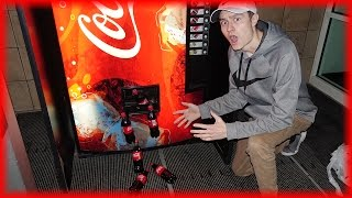 GET FREE COCA COLA FROM ANY VENDING MACHINE! (Life Hacks You Should Know)