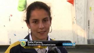 getlinkyoutube.com-Sofía Correa consigue oro en Escalada Deportiva