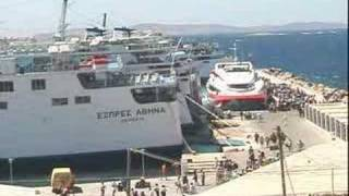 getlinkyoutube.com-GREEK FERRIES, FERRIES, FERRIES - ISLAND HOPPINIG IN GREECE!