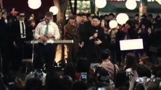 getlinkyoutube.com-世紀合唱-奥巴马与金正恩在韩国首尔弘大一唱泯恩仇