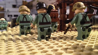 getlinkyoutube.com-Lego WW2 Full battle of Peleliu