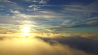 getlinkyoutube.com-Drone video - DJI Inspire 1 on high altitude above clouds - Sky