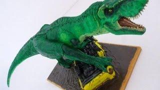 getlinkyoutube.com-JURASSIC PARK- T.Rex estatua en Arcilla Polimérica Sculpey -Pagkt0JorgeArmas- ABR2013
