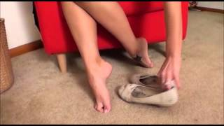 getlinkyoutube.com-cali in flats shoeplay and toe points