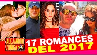 getlinkyoutube.com-17 ROMANCES DE FAMOSOS EN 2017!! Novios que nos sorprendieron