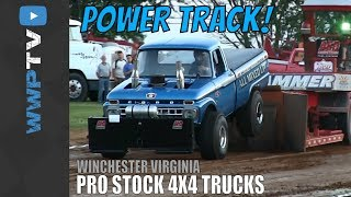 getlinkyoutube.com-6400 Pro Stock 4x4s Pulling at Winchester May 31 2013