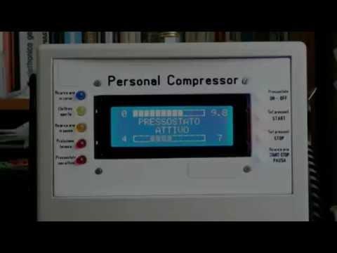 Personal Compressor (Compressore con motore di frigorifero)