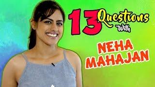 Top 13 Questions with Neha Mahajan | Tuza Tu Maza Mee Marathi Movie | Lalit Prabhakar