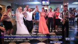 getlinkyoutube.com-Milica Piscureanu si Noua Generatie Colaj HORA LIVE part.1 Nunta Laurentiu si Alina 16-05-2015
