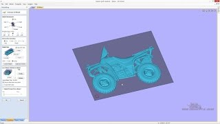 getlinkyoutube.com-Vectric Import 3d Model