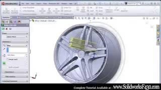 getlinkyoutube.com-SolidWorks Car Tutorial - How To Model a Car in SolidWorks (Ferrari F430)