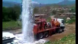 getlinkyoutube.com-Watertec 24 Water Well Drilling Rig in Kurdistan, Iraq