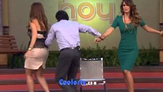 getlinkyoutube.com-Nalgotas de Ninel Conde y Galilea Montijo con mini vestidos ajustados Increible