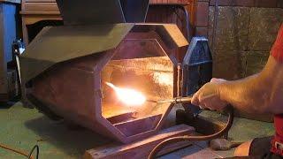 getlinkyoutube.com-Smokeless Wood Stove How-To