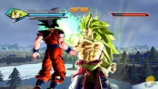 getlinkyoutube.com-Dragon Ball Xenoverse (PC): Legendary Super Saiyan 3 Broly [MOD] 【60FPS 1080P】
