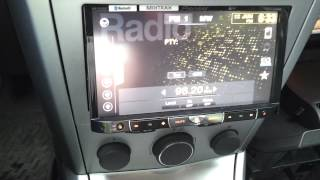 getlinkyoutube.com-Pioneer AVH-P8400BT в Opel Astra H