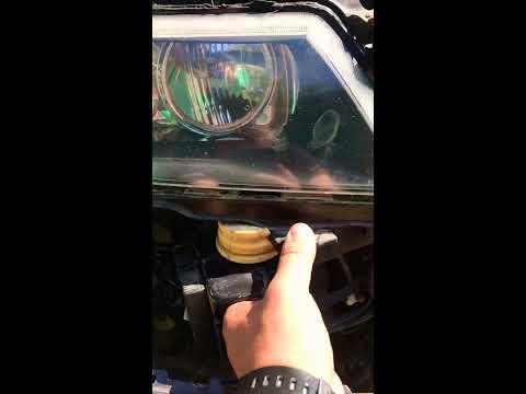 Устранение провисания переднего бампера на Honda Accord 7