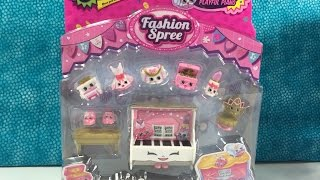 getlinkyoutube.com-Shopkins Giveaway Ballet Collection Season 3 Playset Fashion Spree Unboxing | PSToyReviews