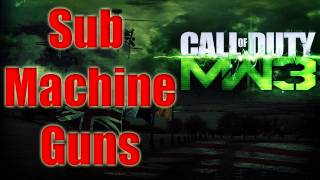 getlinkyoutube.com-MW3 Guns Confirmed - SMG Modern Warfare 3 All Sub Machine Guns List Call of Duty
