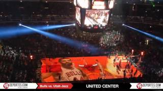 Chicago Bulls vs. Utah Jazz Line up
