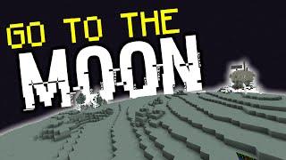 getlinkyoutube.com-Minecraft: GO TO THE MOON! (Custom Map/Only One Command)