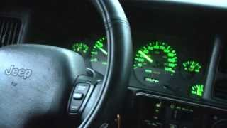 "getlinkyoutube.com-5 Speed V8 ZJ Grand Cherokee NV3500 0-60mph and ""Spirited Driving"""