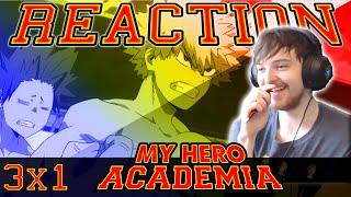 My Hero Academia: Season 3 Episode 1 REACTION