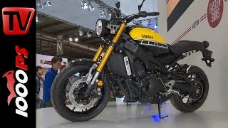 getlinkyoutube.com-Yamaha XSR 900 2016 | Details, price