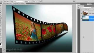 getlinkyoutube.com-How to make a 3D film strip in Photoshop - Week 69