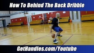 """getlinkyoutube.com-How to Behind the Back Dribble Tutorial - """"Basketball Basics"""" for Beginners - Crossover Moves"""