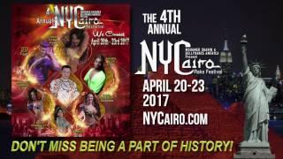 NYCairo Raks Festival 2017 Promo Video!