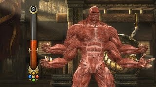 getlinkyoutube.com-Mortal Kombat 9 Komplete Edition - All Test Your Might with Meat *PC Mod* (HD)