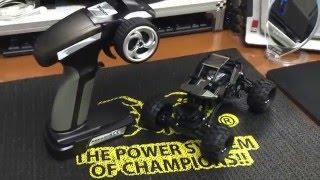 getlinkyoutube.com-BASHER Rockstar 1/24 4WS mini Rock Crawler Review 1