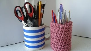 getlinkyoutube.com-stand up crochet hook holder crochet pattern