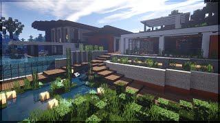 getlinkyoutube.com-Minecraft: Casa Moderna para 1.8! (by makapuchii)
