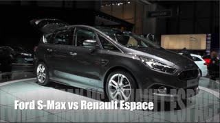 getlinkyoutube.com-Ford S-Max 2015 vs Renault Espace 2015